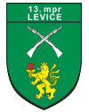 13. Mechanizovaný prápor Levice logo